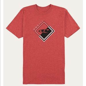 ✨ Men's O'Neill anchored T-shirt in red ✨